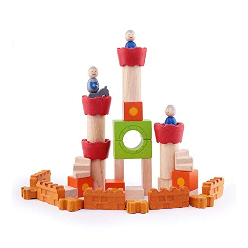 Best Prices! LIULAOHAN Wooden Blocks, Guardian City Tales Puzzle Children Toys The Shape Cognitive B...