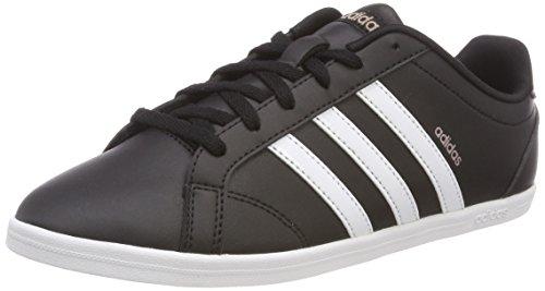 Adidas Vs Coneo Qt, Zapatillas para Mujer, Negro (Core Black/Footwear White/Vapour Grey Metallic 0), 41 1/3 EU