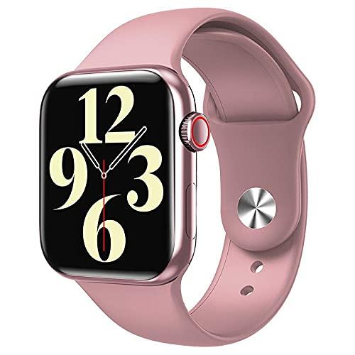 Relógio Smartwatch HW16 44mm Ligações Foto Face Android IOS (ROSA)