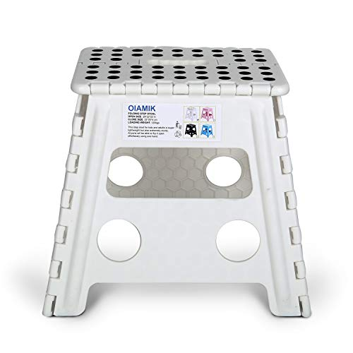 OIAMIK Non Slip Folding Step Stool for Kids and Adults