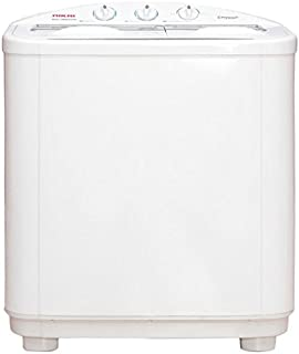 Nikai NWM900SPN5 Top Load Semi Auto Twin Tub Washing Machine, 9 Kg - White
