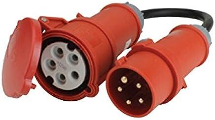 Gut gemocht Suchergebnis auf Amazon.de für: CEE Adapter 32A Stecker 16A WC22