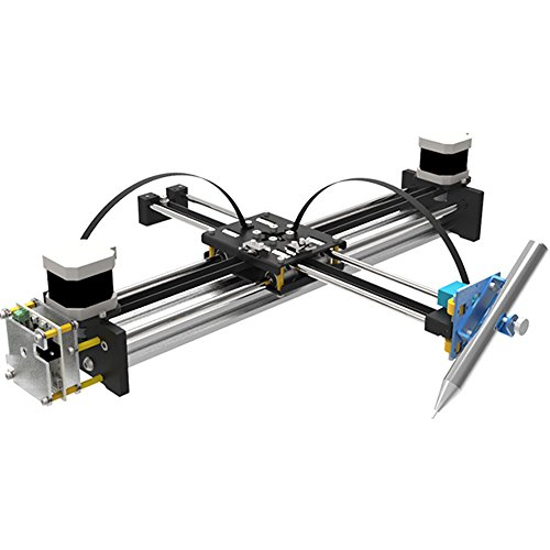 GoooGi Geek-Lab Assembled XY Plotter - Drawing Robotics - Painting/Writing Robot Kit - High-Precision - Corexy/Hbot Structure - Open Source for Maker/Geek