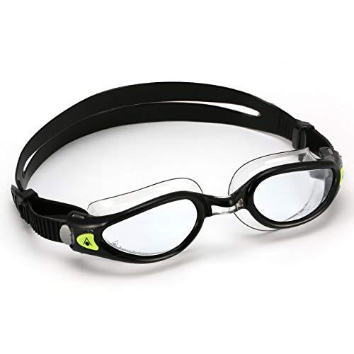 Aqua Sphere Kaiman Exo Compact Fit Gafas de natación, Unisex Adulto, Cristal...