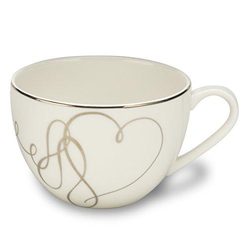 Mikasa Love Story Tea Cup, 10-Ounce