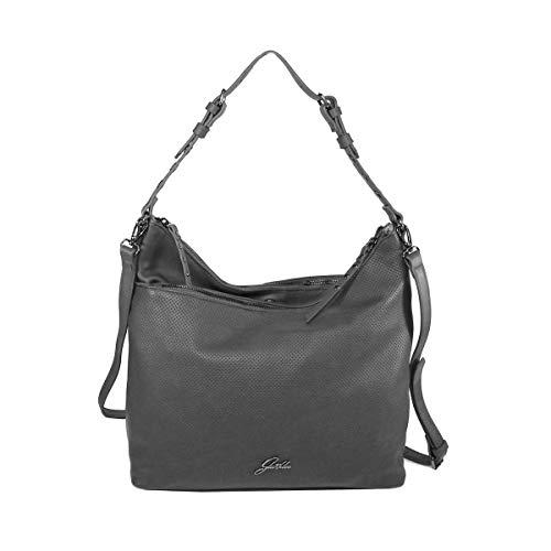 Glüxklee Damen Handtasche Rita (Grau)