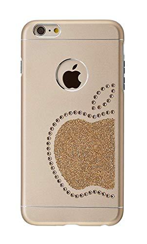 iShield for iPhone 6 Plus/6S Plus con *51* Crystals from Swarovski Modello Re Mela e Mela (Argento) (Black) (Gold)