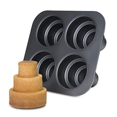 mini 3 tier cake pan - 1