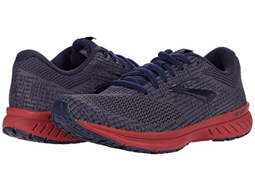 Brooks Revel 3 Ebony/Peacoat/Red 8.5 D (M)