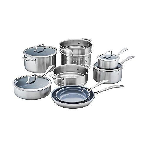 ZWILLING J.A. Henckels Spirit Ceramic Nonstick Cookware Set