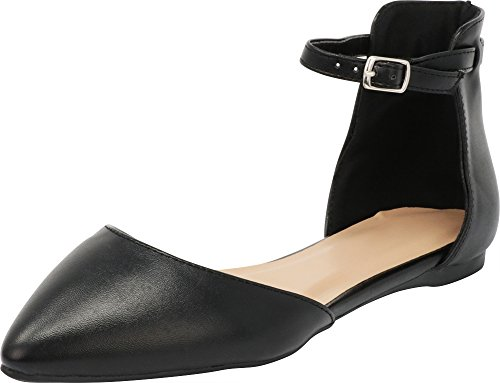 Top 10 best selling list for pointed flat shoes with ankle strap
