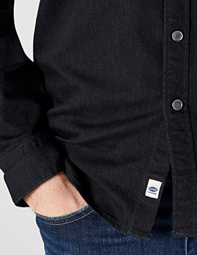 Levi's Herren Freizeithemd Barstow Western, Schwarz/Black 0216, Small