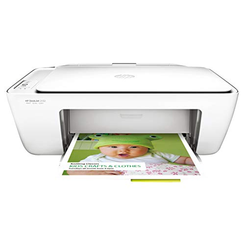 HP DeskJet 2132 All-in-One Inkjet Colour Printer