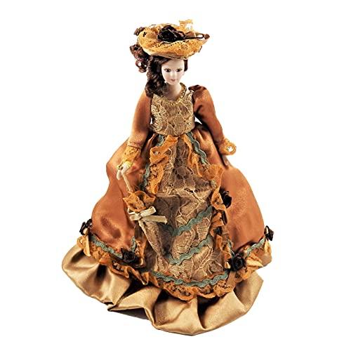 Melody Jane Casa de Muñecas Victoriana Mujer en Óxido Conj