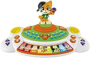 Piano com músicas dos 44 Gatos, Chicco, Chicco, Colorido