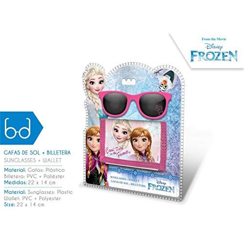 Frozen-WD17765 - Set occhiali e portafogli, multicolore (Kids WD17765)