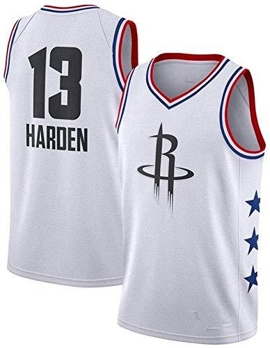 llp NBA Jersey Houston Rockets # 13 James Harden Jersey Basketball Jersey Quick Dry Transpirable Swingman Jersey (Size : Medium)