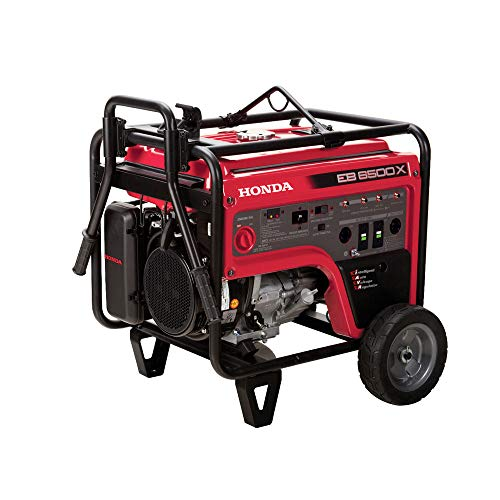 Honda 663600 EB6500 120V/240V 6500-Watt 389cc Portable Industrial Generator with Co-Minder