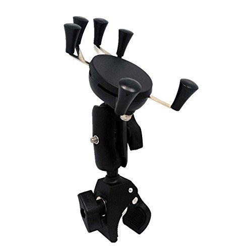 Universele Houder voor Fietstelefoon Fiets Mobile Phone Navigation Bracket wordt gebruikt for de fiets Motorcycle Scooter en andere anti-slip en vermindering van trillingen Verstelbare Steunbeugel