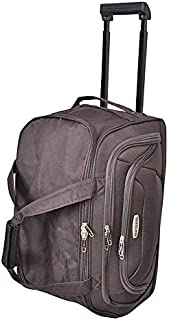 New Travel Duffles Trolly Bag, Dark Brown