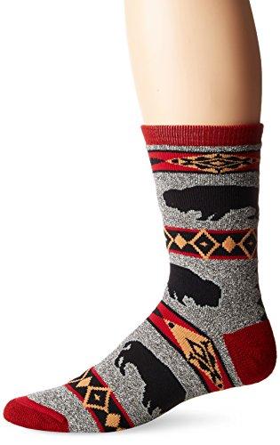 FBF Originals Socks, Buffalo Blanket Motif Size Large