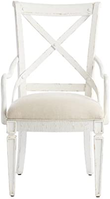 Stanley Furniture Juniper Dell Arm Chair in 17th Century White