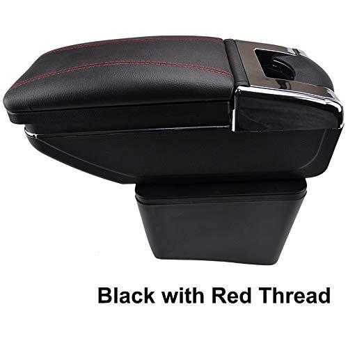 Reposabrazos giratorio para Polo Mk5 Vento 2010-2017 con rosca negra