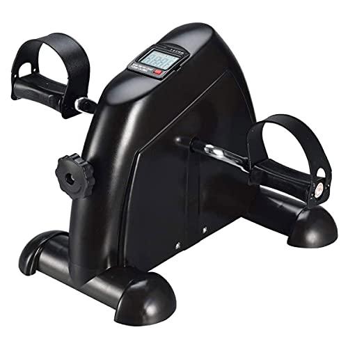 NAOKEY Mini Bike Ejercicio - Mini Bike Pedal Trainer con Monitor LCD Entrenador de Bicicletas Fitness Bike for Arm and Leg Trainer Home Office