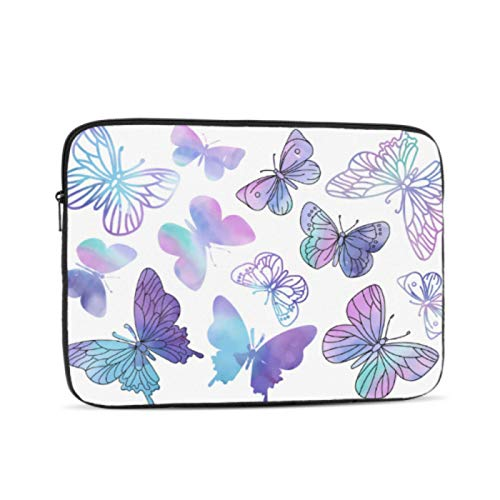 Macbook Cover 15 Inch Clipart Purple Butterfly Color Macbook 15 Cover Multi-Color & Size Choices10/12/13/15/17 Inch Computer Tablet Briefcase Carrying Bag