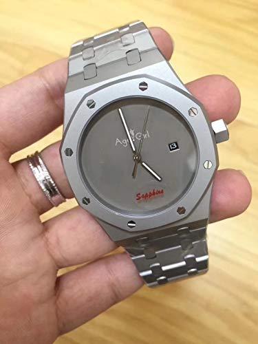 GFDSA Automatische horloges Top Luxe merk Herenhorloge Titanium Automatische mechanische achterkant Glas Saffier Waterdichte lichtgevende horloges Limited