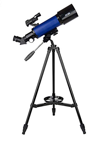Explore One CF400SP Astronomy and Terrestrial Telescope with 20x to 67x Magnification - 70mm Aperture - 400mm Focal Length - Smartphone Adapter -...