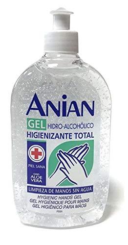 ANIAN HIDRO- ALCOHÓLICO gel higienizante total manos 500 ml