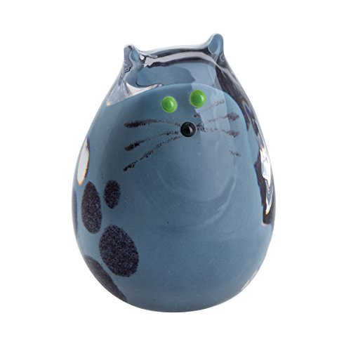 Caithness Verre Purrfect Chaton Gris, Multi