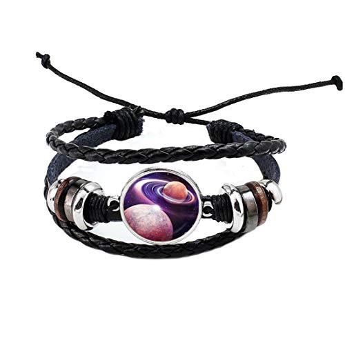 Brazalete planeta, brazalete espacial, joyería planeta, joyería del sistema solar, pulsera del planeta, joyería del espacio, pulsera de la galaxia #230