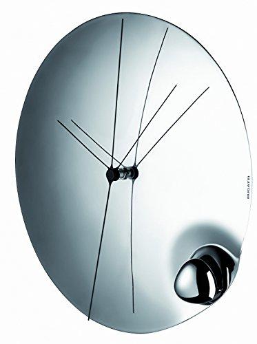 BUGATTI 22-590 Acqua Pendule Acier INOX Blanc 32 x 32 x 2 cm