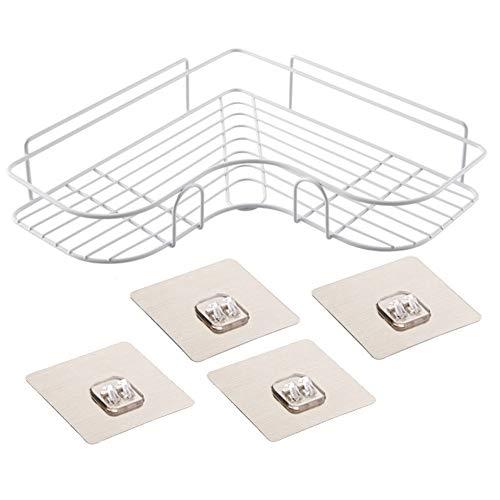 YHADX Estantería triangular para baño o champú, sin perforaciones y fácil instalación, A2 unidades