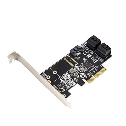 IO CREST Internal 5 Port Non-Raid SATA III 6GB/S Pci-E