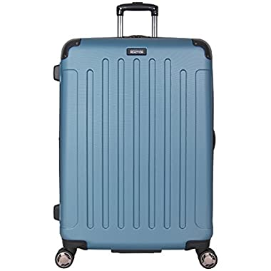 Kenneth Cole Reaction 28  Abs 8-wheel Upright Suitcase, Ocean Blue