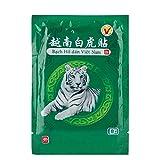 Parche para aliviar el dolor, yeso de bálsamo de tigre blanco, 8pcs Emplastos para aliviar el dolor...