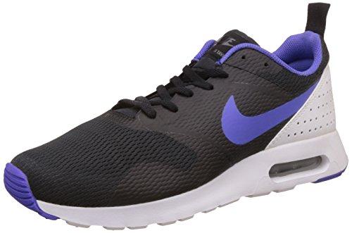 Nike Herren Air Max Tavas Laufschuhe, Mehrfarbig (Black/Persian Violet-White), 44 EU