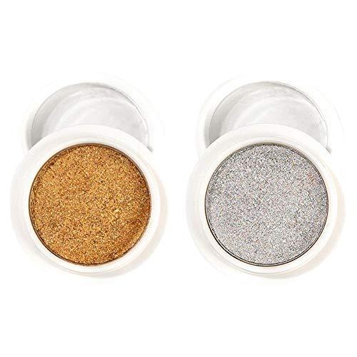 Junean Poudre à Effet Miroir, Poudre à Ongles, Nail Art Glitters Nail Art Poudre de Chrome Magic Mirror Effect Pigment Powder Nail Powder Sticks de Fard à paupières