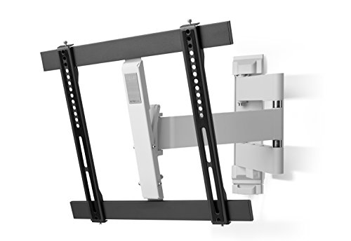 "One For All WM6451, Soporte de pared para TV de 32 a 60"" Giratorio 180° Peso máx. 40kg, Para todo tipo de TVs LED, LCD, Plasma, gris/blanco"