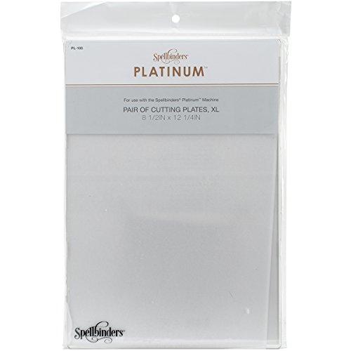 Spellbinders PL-105 Platinum Cutting Plates, X-Large