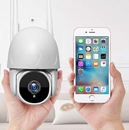 AINSS H.265 1080P HD 2MP Outdoor WiFi Wireless IP PTZ Kamera Humanooid Tracking Cloud AI Speed Dome Kameras Karte 4X...
