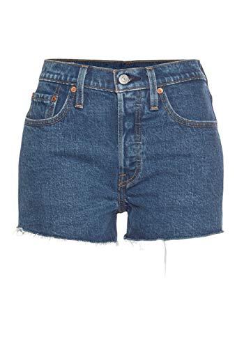 Levi's Levis 56327 0091-501 Short Bermudas UND Shorts Damen Denim MEDIUM Blue 26