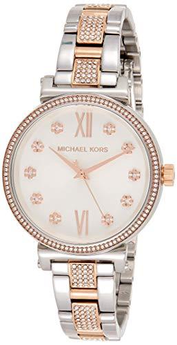 Michael Kors dames analoog kwarts horloge met roestvrij stalen armband MK3880