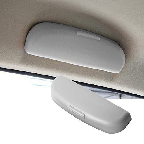 SHAOHAO Soporte para gafas de sol para Volvo XC90, XC60, V90, V60, interior, color negro