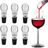 KARP Wine Aerator Pourer (6-Pack) - Premium Aerating Decanter Spout Bar Accessories