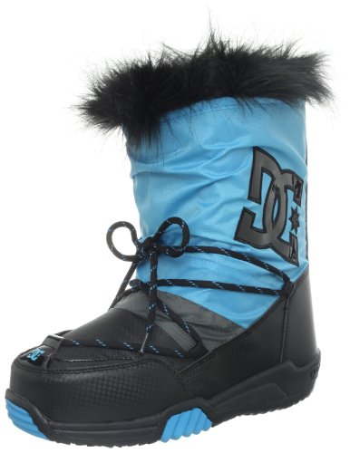 Hot Sale DC Women's Lodge Boot Sneaker,Black/Turquoise,9 M US