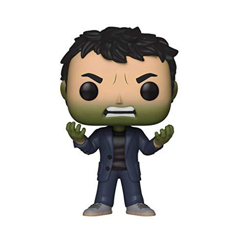 YONG FEI Muñeca Modelo Modelo - Funko Pop! Marvel: Avengers Infinity War - Bruce Banner con Hulk Head Boutique (Color : A)
